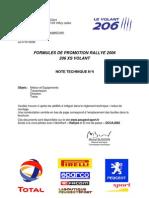206 XS Volant 2006 info no4
