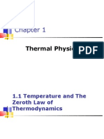 Chapter1 THERMAL PHYSICS Student