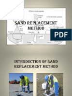 Sand Replacement Method