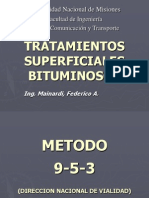 Tratamientos Sup. Bituminosos 9-5-3