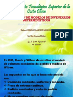 Modelos Deterministicos