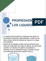 Propiedades de Los Liquidos