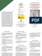 Pieghevole Convegno Alfonso 4-5 Dicembre 2014