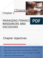 Topic 1 Sourcefinance - Lecture 1