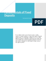 Fundamentals of Fixed Deposits