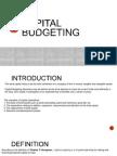 Capital Budgeting (ARR)