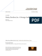 Harley-Davidson Inc.- A Strategic Audit