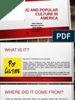 Music and Popular Culture in America Proiect
