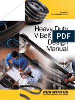 HeavyDuty V belt design