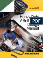 HeavyDuty V belt design