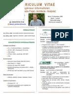 Curriculum Vitae Pascal Jonckers
