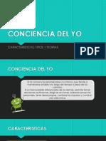 Conciencia Del Yo- Exposicion