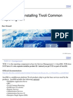 Tivoli Common Reporting 3.1 Installation