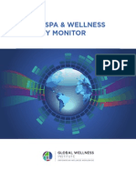 GWI Wellness Economy Monitor Report 2013
