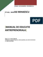 Manual antreprenoriat