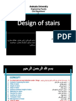 Design of Stair