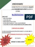 Aviso Evaluacion Docente Noviembre 2013