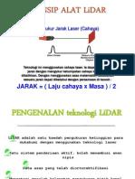 Prinsip Lidar