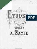 Samie - Etudes Op.32