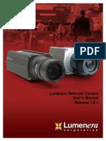 Lumenera Network Camera User's Manual 1.8.1