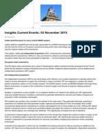 Insightsonindia.com-Insights Current Events 03 November 2014