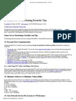 20 Linux Server Hardening Security Tips - NixCraft