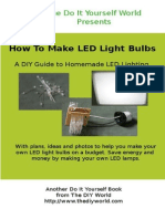 How to Make LED Light Bulbs Yourself