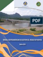 Manual Centroamericano Gestión Riesgo en Puentes 2010