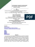 27P. Evolution of Provincial Finance in British India PREFACE.pdf