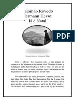 Salomão Rovedo - Hermann Hesse - Já é Natal