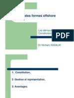 Constitution Société Offshore