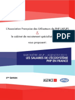 Baromètre AFUP - Agence-E