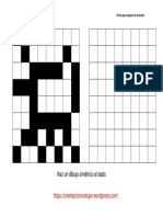 Coleccion Realiza El Dibujo Simetrico Al Dado