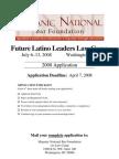 Future Latino Leaders Law Camp