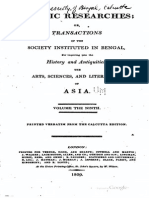 1807 Asiatic Researches Vol 9 s