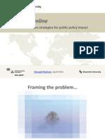 UNU-MERIT Online Comms Workshop 2015