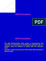 DGS OF ULTRASONICS Evulation