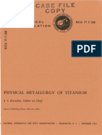 PHYSICAL Metallugy of Titanium by I.I. Kornilov