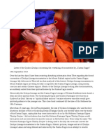 """Letter of the Gyalwa Drukpa Concerning the Overtaking of Monasteries by """"Karma Kagyü"""""""