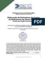 OT-004-2013-IBEC Orçamento de Referência de Obra Pública Versão Final