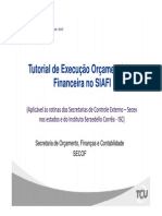 Tutorial SIAFI