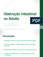 Obstrucao Intestinal Aula