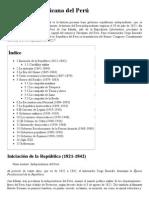 Historia Republicana Del..., La Enciclopedia Libre