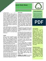 Newsletter 5 14 November 14