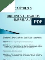 Capítulo 5 - Objetivos e Desafios Empresariais