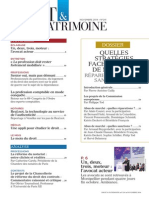 Sommaire n° 241 D&P nov 2014