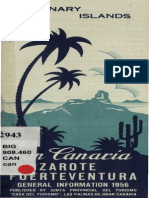 The Canary Islands. General Information 1956