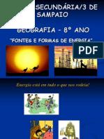 Fontes Formas Energia