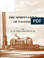 The Spirituality of Fasting - H.H. Pope Shenouda III