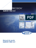 Manual de Ayuda Survey Pro 4.9
